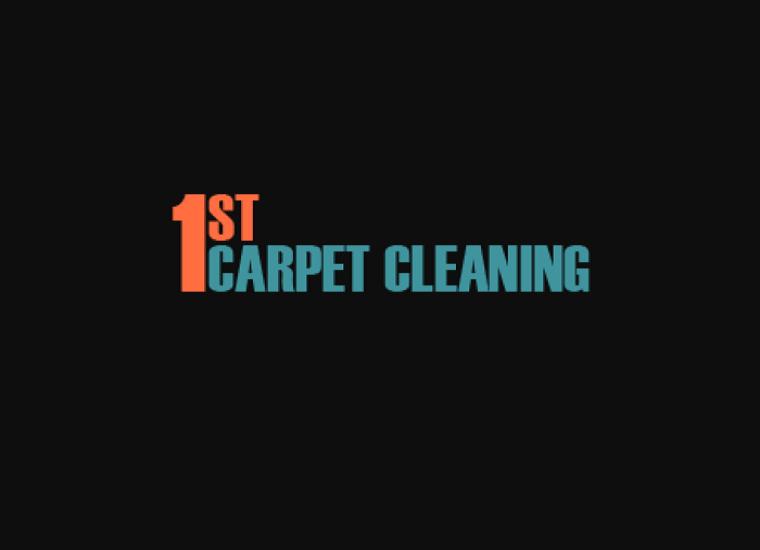 1st carpet cleaning logo
