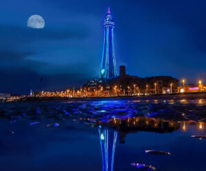Blackpool Tower drawing